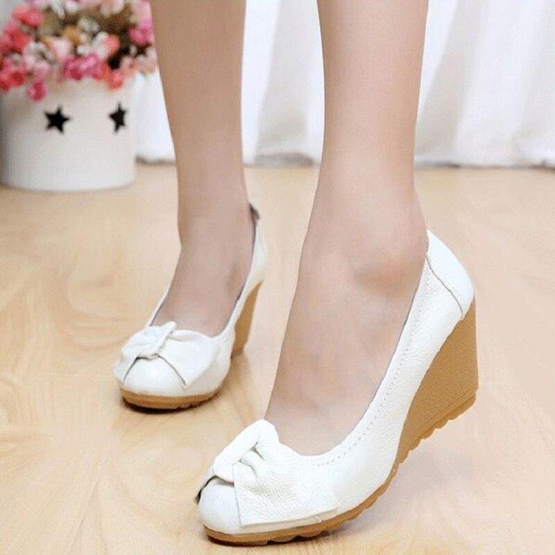 2018 nouveau single chaussures femmes printemps et automne modèles en cuir de mode sauvage chaussures à talons hauts avec petit blanc chaussures