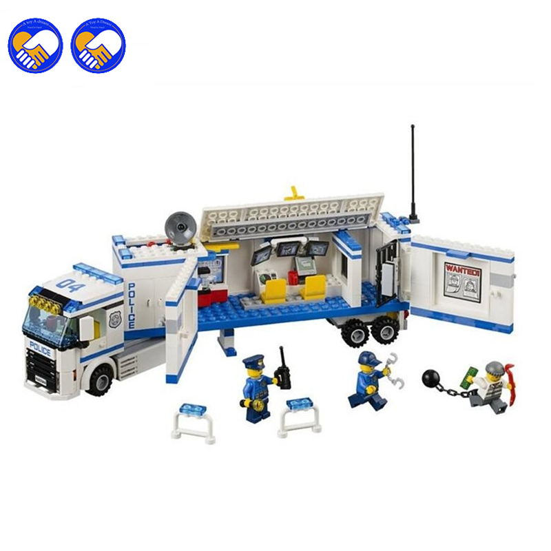 A toy A dream 394pcs 2016 10420 city police fluidity Police Station building blocks assembled kids toys Compatible Lepin 60044 lepin city town city square building blocks sets bricks kids model kids toys for children marvel compatible legoe