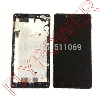 for Xiaomi hongmi Redmi Note lcd display touch screen digitizer with frame assembly 4G version black