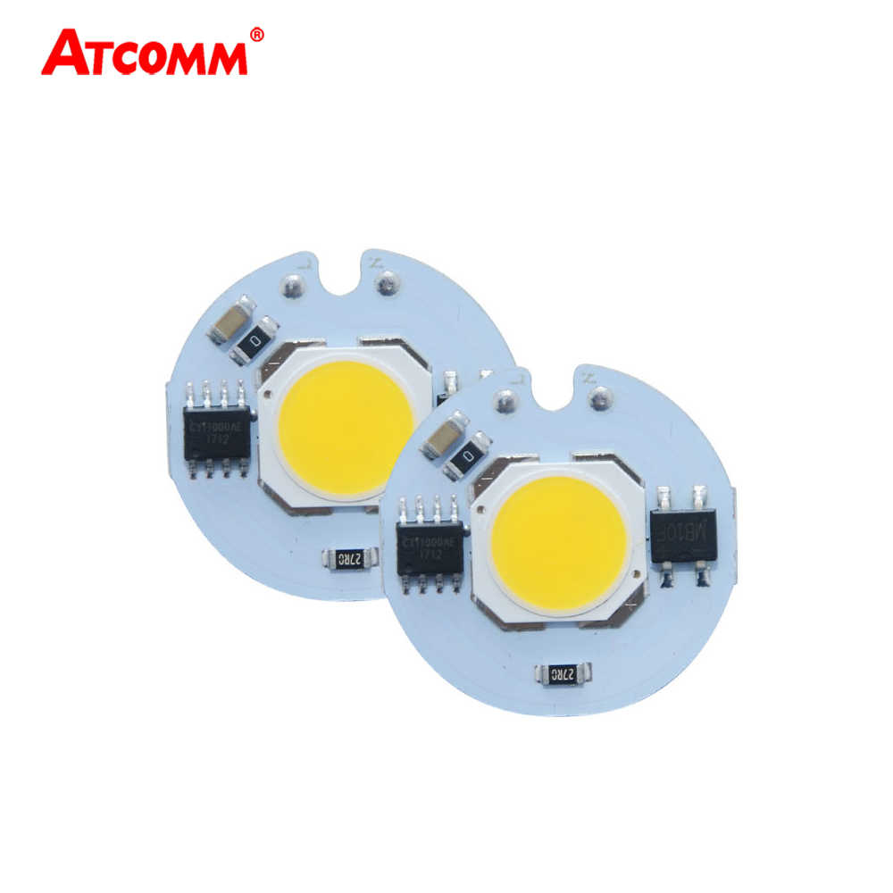 LED Light Matrix 3W 5W 7W 9W LED COB Chip Lamp 110V 220V 27mm Diode Array Outdoor Floodlight Spotlight Matrix Cold/Warm White