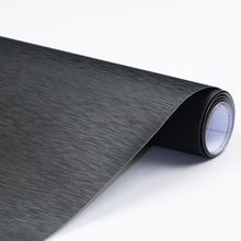 10cmX152cm wiredrawing Carbon Fiber Vinyl Film Car Accessories Automobiles Motorcycle bicycle sticker car styling