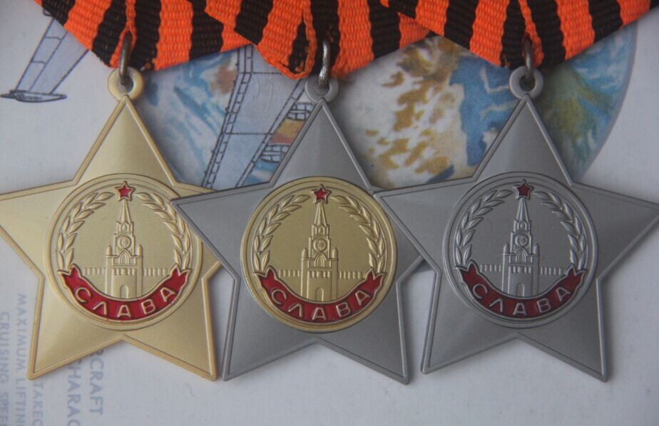 Order of Glory Class 1,2,3 soviet medal putin russia badge emblem amy navy ww2 military uniform red star victory(China)