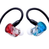 New NICEHCK MAGAOSI K5 5BA Drive Unit In Ear Earphone 5 Balanced Armature HIFI Monitoring Earphone