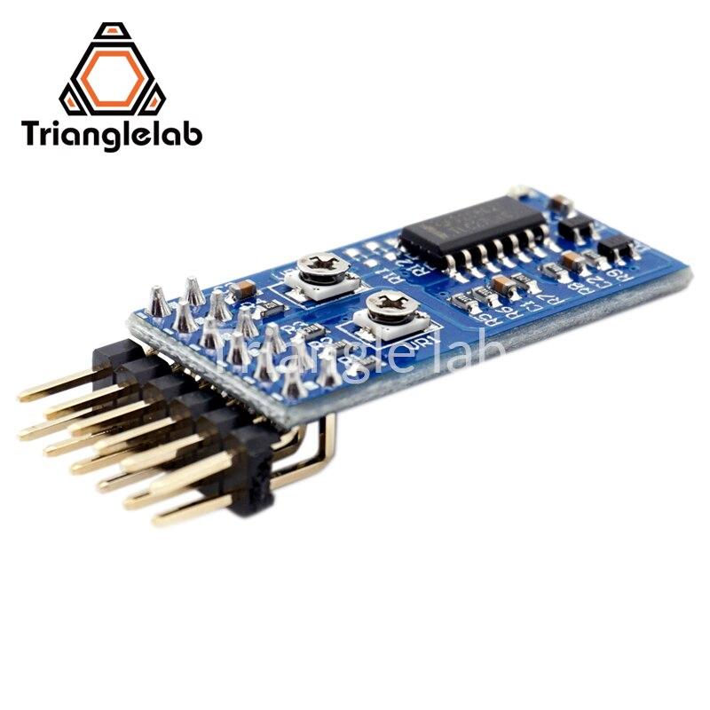 trianglelab Precision Piezo Z-probe Universal Kit Z-probe for 3D printers revolutionary auto bed leveling sensor 3d touch цены