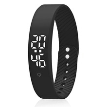 smart bracelet waterproof 3D  Calorie Step Counter Fitness Tracker support multi sports modes band Hot