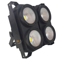 4x100 Watt LED COB Licht 4 Augen Geführt Publikum Licht kalt weiß mit warmweiß 2IN1 oder einzel coole oder warme optional Bühnen-Lichteffekt Licht & Beleuchtung -