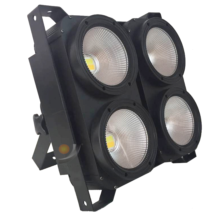 4x100W LED COB Light 4 Eyes Led Audience Light Cool White With Warm White 2IN1 Or Single Cool Or Warm Optional