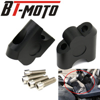 Guidão da motocicleta riser lidar com barra de montagem braçadeira adaptador para suzuki gsf1250s 07-16 sv650 16-18 sv1000 dl250 V-STROM gw250 s f