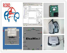 elsawin 2017 elsa win 5.2 and 5.3 with 500gb hard disk installed well in laptop cf30 4g used auto software for vw for audi
