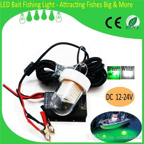 Cheap 2015 New Energy Saving Solar Fishing Lights 12/24V DC Portable LED Solar Powered Fishing Lights 90W White/Green 8pcs/lot