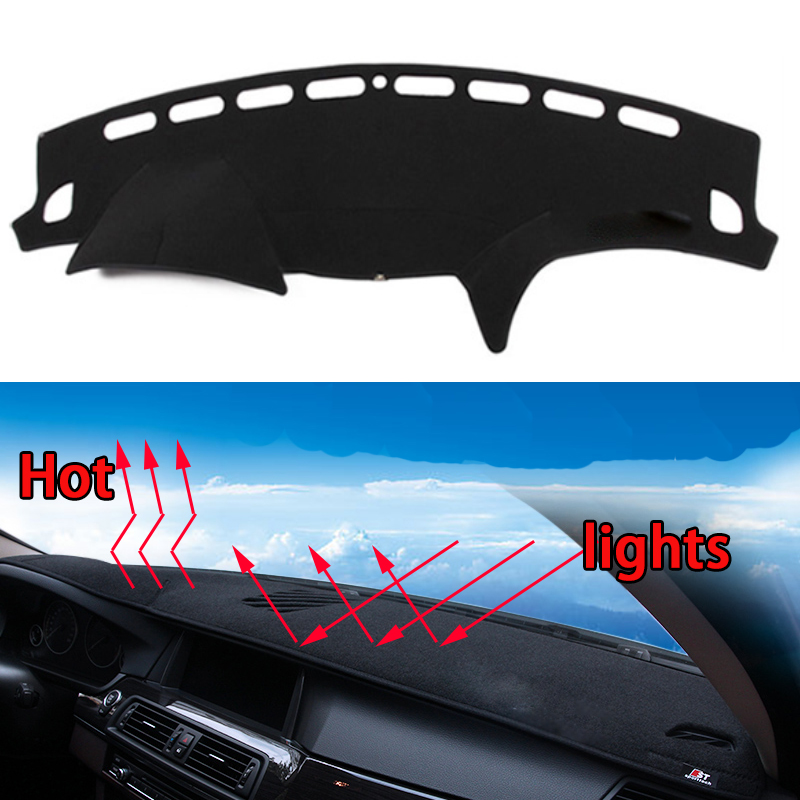 Car dashboard Avoid light pad Instrument platform desk cover Mats Carpets Auto accessories car styling for subaru Forest special car trunk mats for toyota all models corolla camry rav4 auris prius yalis avensis 2014 accessories car styling auto