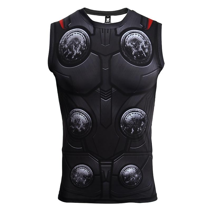 Thor 3D Compression T shirt 1