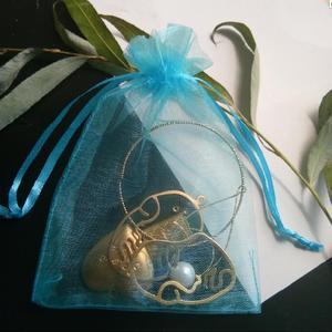 Image 5 - Hot Koop 1000 stks 5 cm x 7 cm koord pouch Wedding Christmas party Gift Bag organza trekkoorden sieraden Verpakking zak Garen zakken