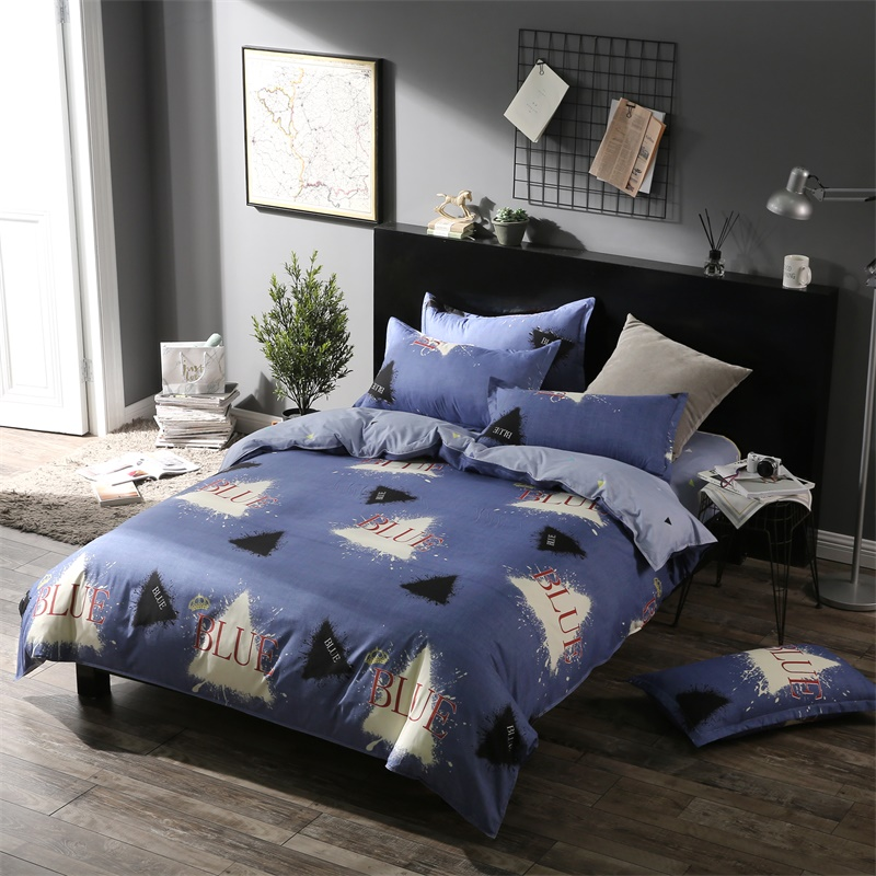 100% polyester Bedding Set Full Queen King plus Size Sheet Bed Duvet Cover patchwork bedspread Children Anime Home Textile