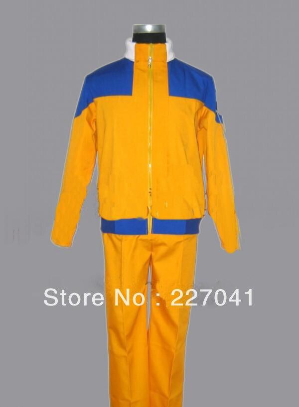 Naruto Uzumaki Naruto cosplay costume Free Shipping