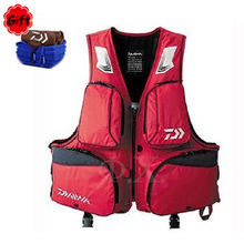 X-2XL New Summer Breathable Fishing Floating Vest Life Jacket Fishing Suit Sea Fishing Vest Fishing Tackle Life Vest