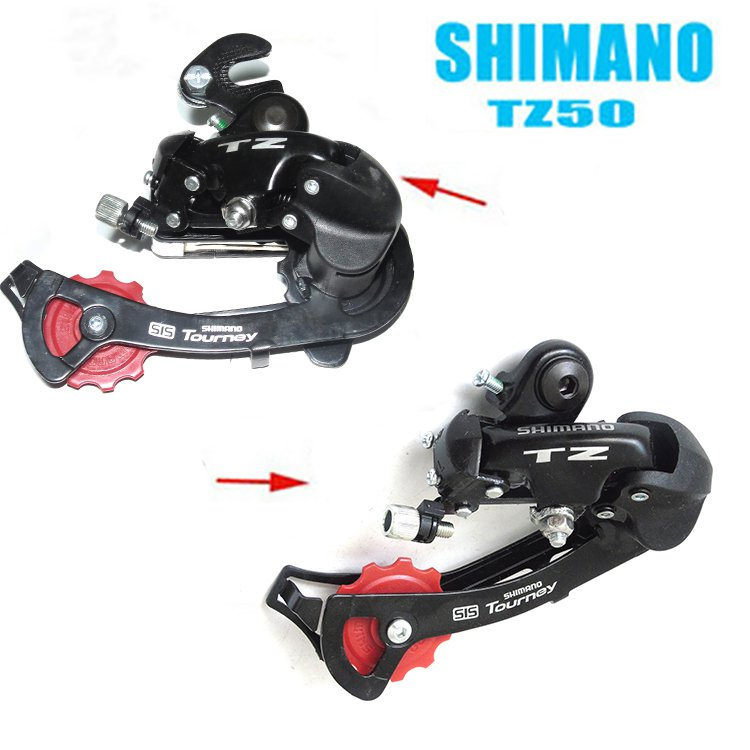 SHIMANO Tourney RD-TZ50 Rear Derailleur 6/7-speed Hanger Mount / Direct Mount