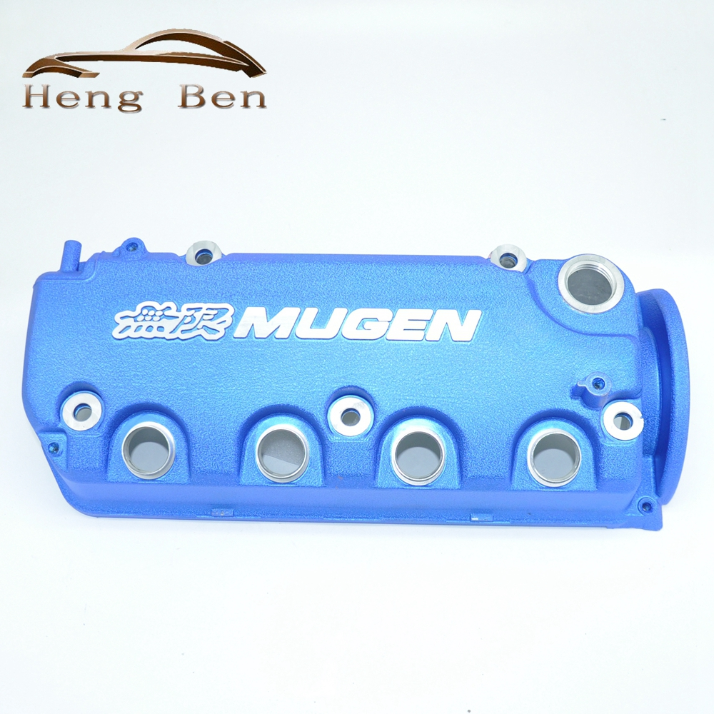 HB MUGEN Style racing engine valve cover for Honda 92-95 civic D15 D16 vtec and 96-00 D16y engines