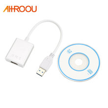USB3.0 Male to HDMI Female Converter Cable 1080P Cable Aluminium Alloy USB to HDMI External Video Card Multi Monitor Adapter