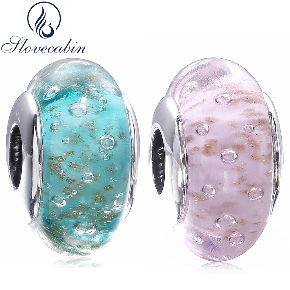 charm pandora verre de murano