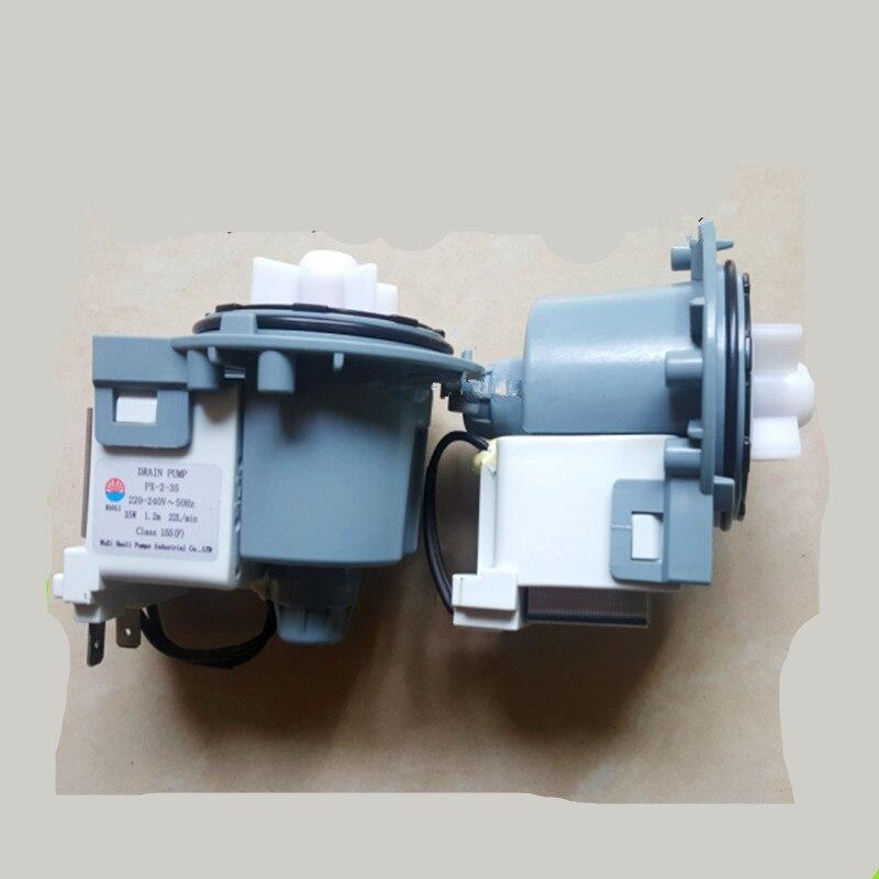 где купить 1pcs Original drum washing machine drain motor 220-240V PX-2-35 washing machine motor drain pump motor Washing Machine Parts по лучшей цене