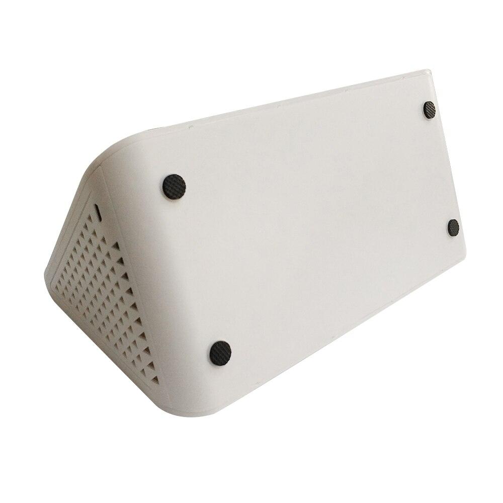 Moniteur professionnel de qualité de l'air PM2.5 détecteur PM1.0 PM10 HCHO covt AQI testeur LCD thermomètre hygromètre calendrier réveil - 6