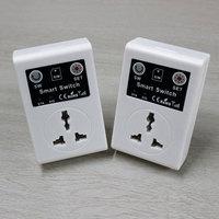 Newest 220V Phone RC Remote Wireless Control Smart Switch GSM Socket Power EU UK Plug For
