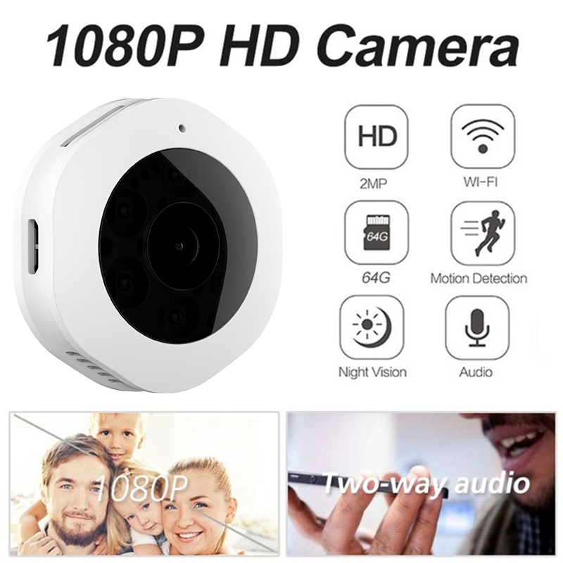 H6 DV Wifi Micro Camera Night Version Mini Action Camera with Motion Camera Sensor Voice Video Recorder Small Camera in Mini Camcorders from Consumer Electronics