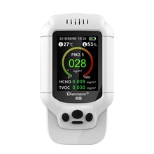 HCHO PM1.0 PM2.5 PM10 детектор tvoc Температура измеритель влажности PM 2,5 газоанализатор защиты дома AQI мониторинга качества воздуха