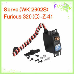 ФОТО walkera furious 320 servo wk-2602s furious 320(c)-z-41 f320 spare parts walkera fruious 320 spare parts free track shipping