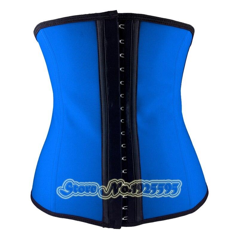 f2a90a5ea81 Hot Latex Waist trainer Slimming Girdles Rubber underbust waist shaper weight  loss Corsets fitness Fajas gain
