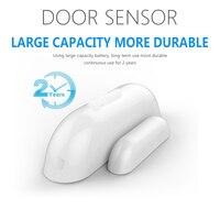 Yobang Secuirty Z wave 300 500 series Magnet Lock Door Window Sensor Compatible For Home Security with Z wave Door Sensor Alarm