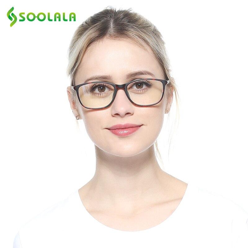 SOOLALA TR90 Superdimensionada Óculos Mulheres Homens óculos de Leitura Full Frame óculos de Lente Clara Óculos de Armação Senhoras Óculos De Leitura + 0.5 0.75 a 4.0