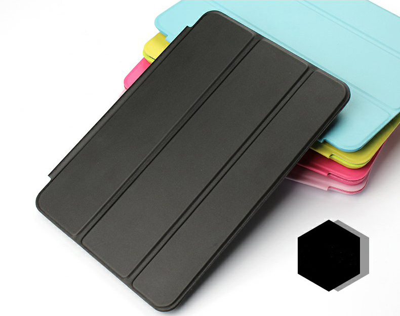 Original 1:1 Smart Cover Case for iPad mini 1 mini 2 mini 3 YRSKV PU Leather Magnetic Smart Cover Tablet Case For Apple iPad