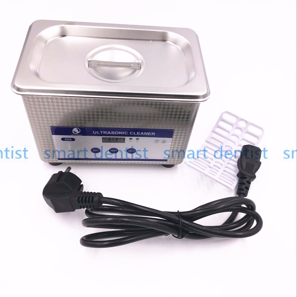 Good Quality Dental Laboratory Equipment 800 mL Digital Ultrasonic Jewelry Clean Bathroom Glass Cleaning Equipment цена 2017
