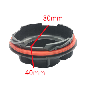 Image 4 - 1 pc for kia K2 Bulb access cover Bulb protector Rear cover of headlight Xenon lamp LED bulb extension dust cover