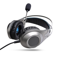 NUBWO N2 Gamer Headset Gaming Headphone with mic LED Helmet Casque Headphone Stereo PC Gamer for Computer Laptop PS4