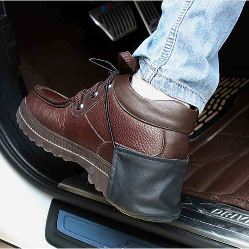 Exterior Accessories 1pcs Car Styling Shoes Heel Protection For Seat Cordoba Focus Mk2 Renault Megane 4 Bmw X1 Suzuki Jimny Mercedes Benz Quell Summer Thirst