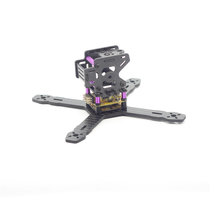 3MM Mini Quadcopter Frame RX130 150 RX150 DIY Mini RC Carbon Fiber Board Plate for Racing Quadcopter 1306 Motors Through FPV 1sheet matte surface 3k 100% carbon fiber plate sheet 2mm thickness