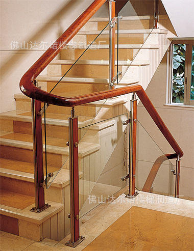 Stainless Steel Staircase Column PVC Spiral Staircase Armrest Stair  Fittings Stainless Steel Staircase Column Fittings