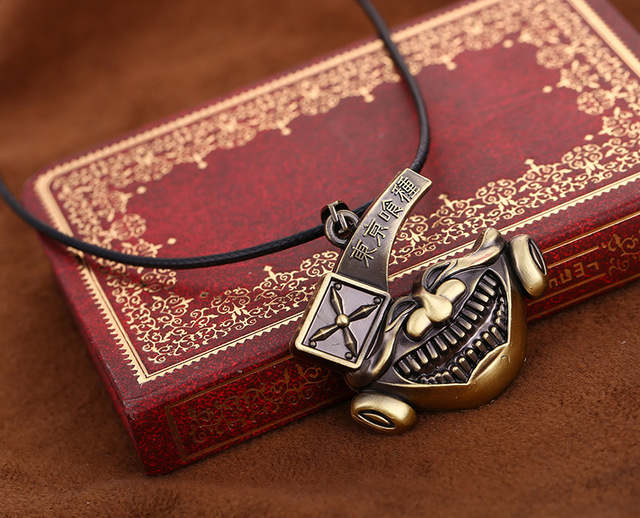 Anime Tokyo Bronze Pendant&Necklace