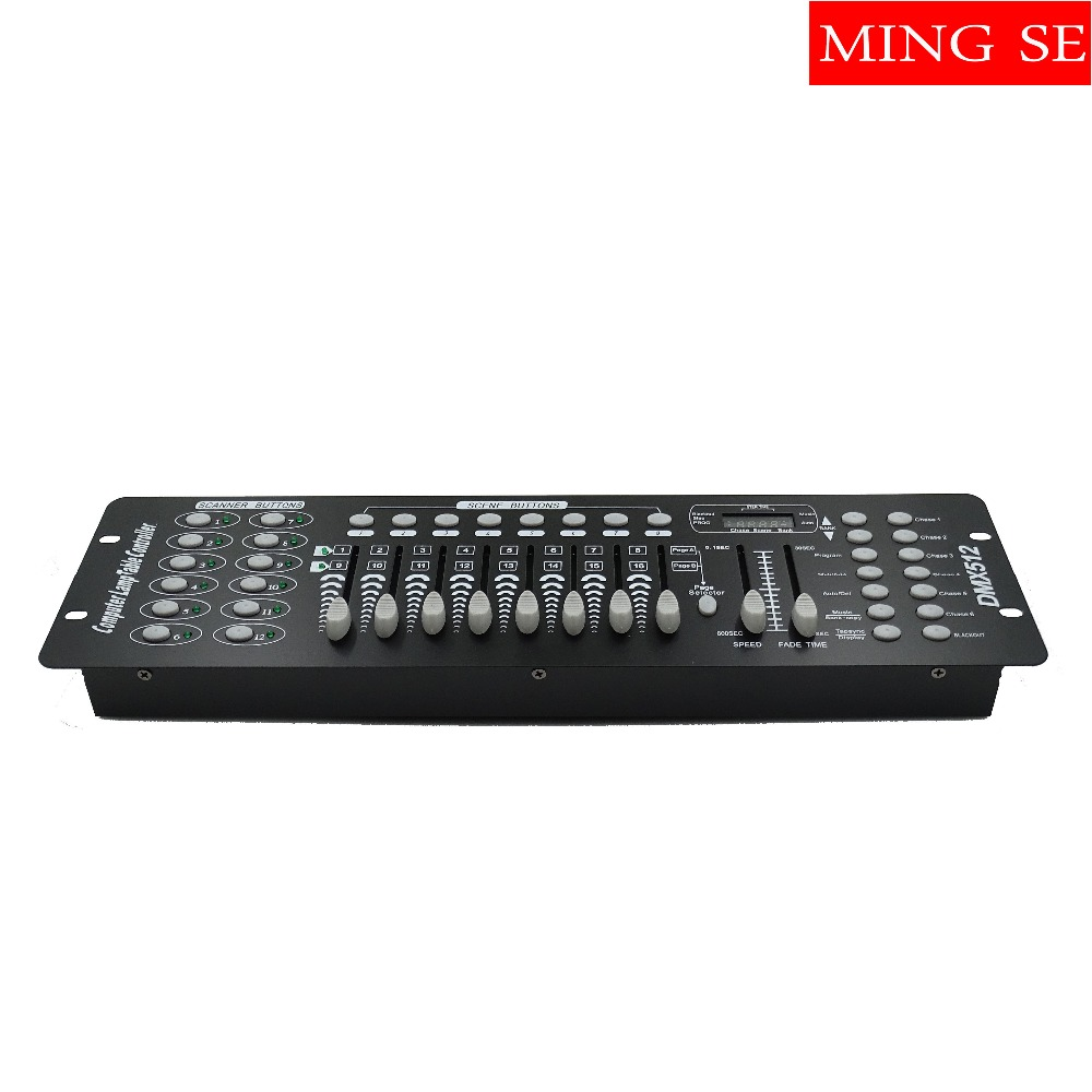 2pcs/lots International standard DMX 192 controller controller moving head beam light console DJ 512 dmx controller equipment