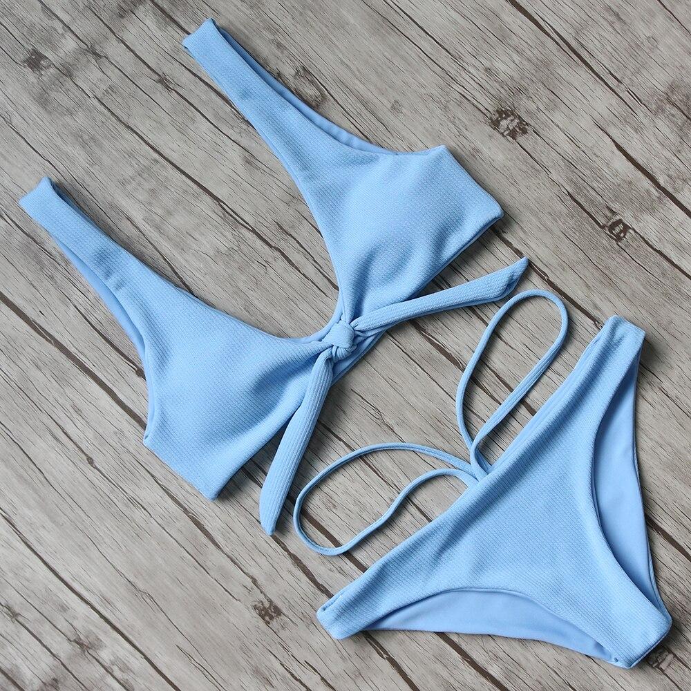 RUUHEE Sexy Bikini 2017 Swimwear Women Brazilian Bikini Push Up Swimsuit Bandage Biquini Set Bathing Suit