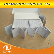 100PCS RFID UID White Cards  13.56mhz Block 0 Changeable