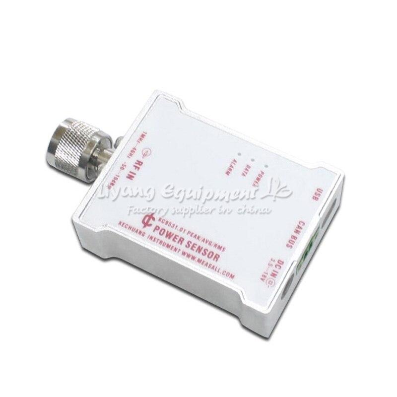 KC9531 RF power sensor power meter probe microwave intensity meter terminal type CAN bus 485 interface tester analyzerKC9531 RF power sensor power meter probe microwave intensity meter terminal type CAN bus 485 interface tester analyzer
