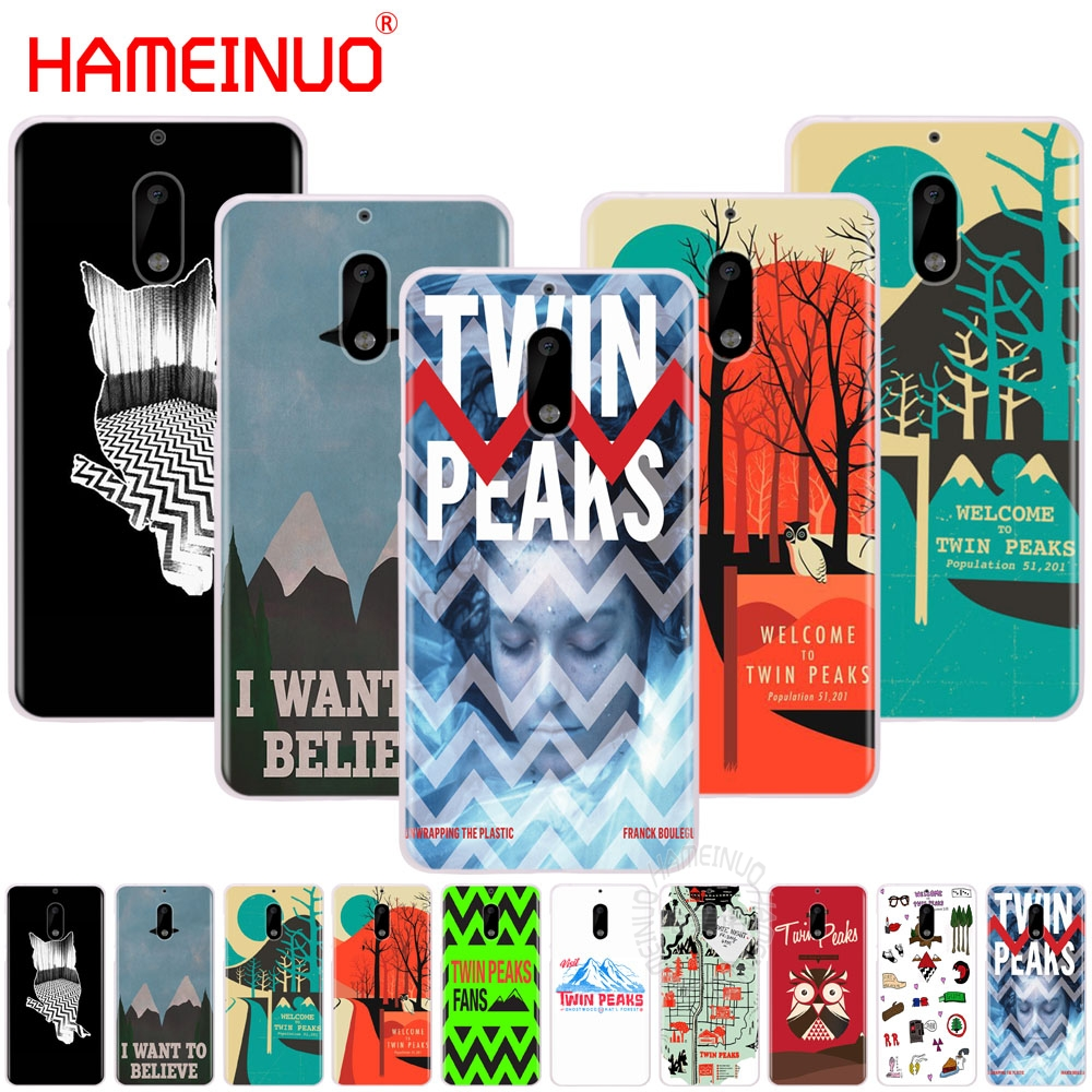 HAMEINUO welocme to the twin peaks cover phone case for Nokia 9 8 7 6 5 3 Lumia 630 640 640XL 2018