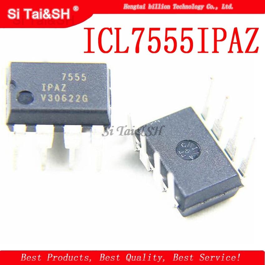 1PCS/lot IC Integrated Circuit Chip ICL7555IPAZ ICM7555 7555 DIP8 General-purpose Timer New Original