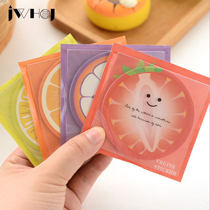 3 pcs/lot SJWHCJ ummer profusion fruit Kawaii ememo pad paper sticky notes post notepad stationery papeleria school supplies