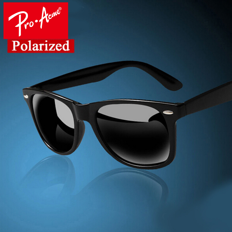 Pro Acme Fashion Classic Square Polarized Sunglasses Men Brand Designer Male Coating Sun Glasses Gafas Oculos De Sol CC0338
