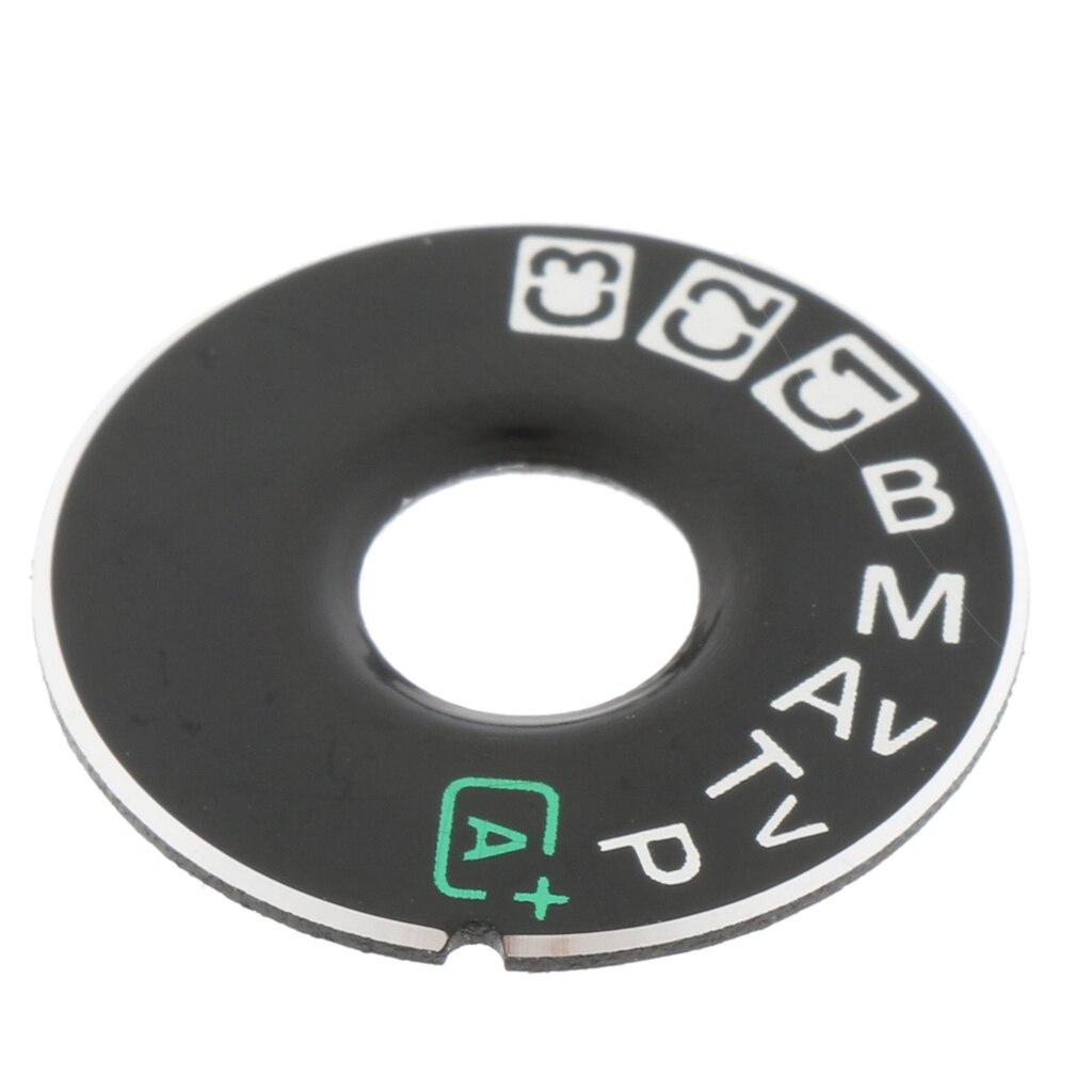 1 pacote de modo de discagem placa interface tampa e reparação de fita fix parte para canon eos 5d mark iii 5d3 câmera digital slr-preto